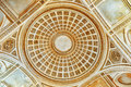 Ceiling And Interior Of French Mausoleum. Stock Photos - 82322043