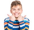 Emotional Portrait Of Teen Boy Royalty Free Stock Image - 82335416