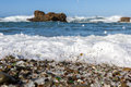Glass Beach, Fort Bragg, California Royalty Free Stock Image - 82364086