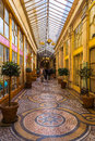 Paris, Galerie Vivienne, The Most Beautiful And Most Luxurious C Royalty Free Stock Photos - 82369388