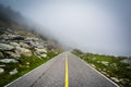 The Road To Grandfather Mountain In Fog, At Grandfather Mountain Royalty Free Stock Photos - 82374358