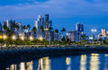 Skyline Of Panama City At Blue Hour Stock Photo - 82495270