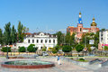 View On The Street In Astrakhan Stock Image - 82505851