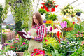 Working In The Greenhouse Stock Photos - 82538193