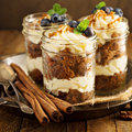Carrot Cake In A Jar Stock Photo - 82546940
