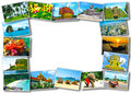 Thai Travel Tourism Concept Design - Collage Of Thailand Images Stock Image - 82581681