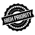 High Priority Stamp Royalty Free Stock Photo - 82605645