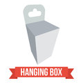 Vector Hanging Box Stock Images - 82615494