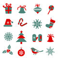 Set Of Christmas Symbols. Royalty Free Stock Photo - 82635105
