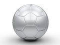 Silver Soccer Ball Royalty Free Stock Photos - 82656058