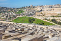 Jerusalem - Outlook From Mount Of Olives To The City Direstion Dromition Abbe Royalty Free Stock Photography - 82686307