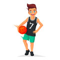 Little Kid -  Basketball Player Stock Photo - 82697750