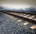Railroad Tracks Royalty Free Stock Photography - 8271007