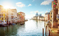 Panorama Of Grand Canal In Venice, Italy Stock Photos - 82712023