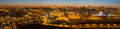 Jerusalem - The Panorama From Mount Of Olives To Old City At Dusk Stock Images - 82724944