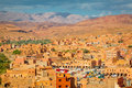 Valley Of The City Boumalne Dades, Morocco Royalty Free Stock Image - 82800906