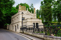 Old Building At Highgate Cemetery In London Stock Images - 82804814