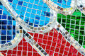 Glass Mosaic Abstract Texture Background Stock Photos - 82813223