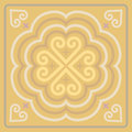 Motifs From Traditional Culture Laos And Thailand 02 Royalty Free Stock Photo - 82815045