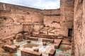 Inside The Bab Agnaou Palace In Marrakesh, Morocco Royalty Free Stock Images - 82841589
