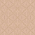 Neutral Seamless Linear Flourish Pattern. Royalty Free Stock Images - 82883419