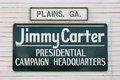 Carter Presidential Campaign Headquarters Royalty Free Stock Photography - 82885187
