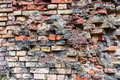 Dirty Old Brick Wall Background Royalty Free Stock Image - 82919226