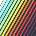 Bright Color Diagonal Rectangles, Colorful Design With Geometric Rectangular Shapes Royalty Free Stock Photography - 82920037