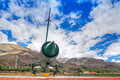 A MIG-21 Fighter Plane Used By India In Kargil War 1999 Operation Vijay Stock Photography - 82935312