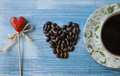 Coffee With Love Stock Images - 82977404