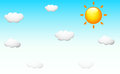 Background Design With The Sun In The Sky Royalty Free Stock Image - 82993986