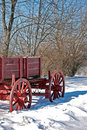 Wagon In Winter Stock Images - 8306864