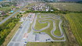 Track For Karting. Aerial View Royalty Free Stock Photos - 83050728