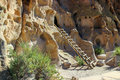 Ancestral Pueblo Homes, Bandelier National Monument Royalty Free Stock Photos - 83053748