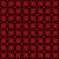 Seamless Geometric Pattern With Stylized Hearts. Stock Images - 83056164