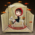 Little Red Riding Hood Stock Images - 83077914