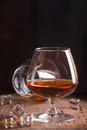 Glass Of Brandy Or Cognac Royalty Free Stock Photo - 83122745