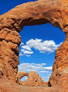 Arch Within An Arch, Arches National Park Stock Photo - 83151500
