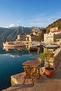 Embankment Of Perast Town. Montenegro Stock Photos - 83159323