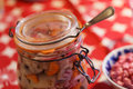 Home Made Pickled Herring On The Christmas Table Royalty Free Stock Photos - 83177488