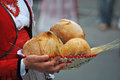 Basket Of Bread Royalty Free Stock Photos - 83189268