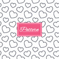 Hearts Stripped Geometric Seamless Pattern. Stock Images - 83199374
