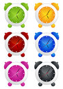 Alarm Clock Set Royalty Free Stock Images - 8320859