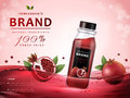 Pomegranate Juice Ads Royalty Free Stock Photos - 83208068
