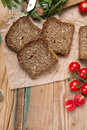 Wholemeal Bread With Sunflower Seeds Stock Photo - 83230960