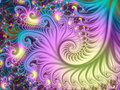 Psychedelic Spiral Fractal Royalty Free Stock Images - 83263359