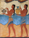 Cup Bearer Fresco From Knossos Stock Image - 83276431