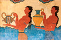 Cup Bearer Fresco From Knossos Stock Images - 83291624