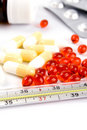 Thermometer And Pills Royalty Free Stock Photo - 8333995