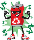 Recycle Can Character Stock Photos - 8337463